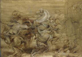 Peter Paul Rubens. The Lion Hunt