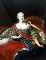 Антуан Пен. Портрет княгини Иоганны Елизаветы Анхальт-Цербстской
