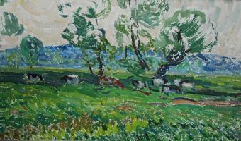 Victor Grigorievich Sevastyanov. Cows