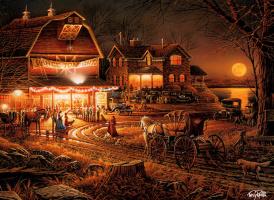Терри Редлин. Ночные огни
