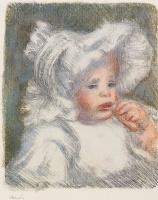 Пьер Огюст Ренуар. Ребенок с бисквитом