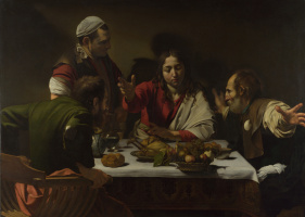 Michelangelo Merisi de Caravaggio. Supper at Emmaus