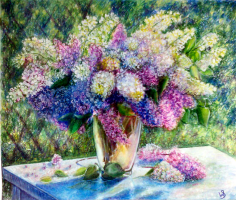 Sophie Wasilewska. Lilacs