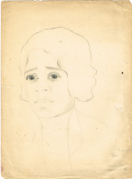 Unknown artist. Portrait of Coretta Arles-TIC