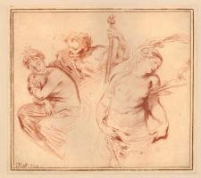 Антуан Ватто. Ариадна, Вакх и Венера