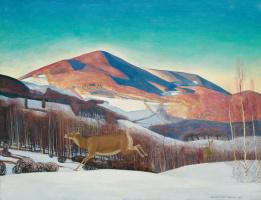 Рокуэлл Кент. Гора Эквинокс. Зима