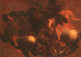 Леонардо да Винчи. Битва при Ангиари