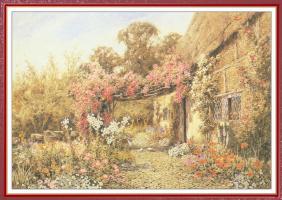Лилиан Станнард. Коттедж в саду