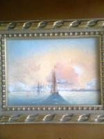Неизвестный  художник. Море