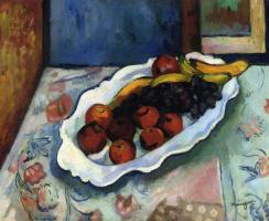 Анри Манген. Тарелка яблок