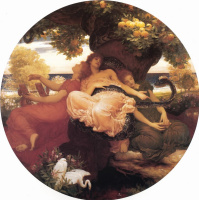 Frederic Leighton. The Garden Of The Hesperides