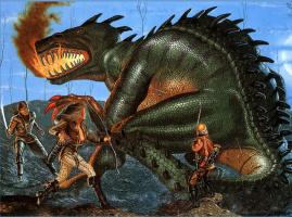 Терри Окс. Убийство дракона
