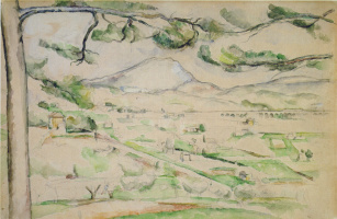 Paul Cezanne. Mount Sainte-Victoire