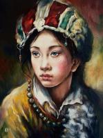 Hope Sosnovikova. Тибетская девушка