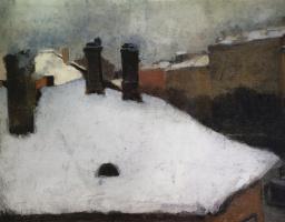 Игорь Эммануилович Грабарь. Крыши под снегом
