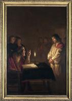 Геррит ван Хонтхорст. Христос перед первосвященником
