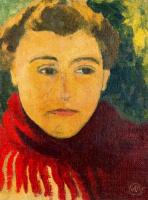 Аристид Майоль. Мужской портрет