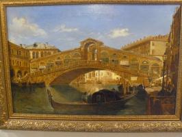 """Венеция .""""Вид моста Rialto"""""""
