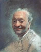 Морис Кантен де Латур. Автопортрет