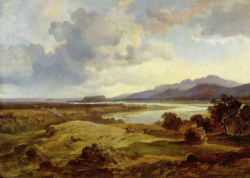 Карл Антон Йозеф Ротман. Долина в Нойберне