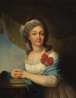 Владимир Лукич Боровиковский. Портрет графини В. С. Васильевой. 1800