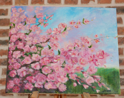 Julia Yuryevna Boyarko. Cherry Blossom