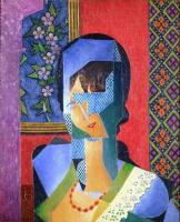 Жан Метценже. Женщина с кружевом