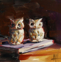 Angela Moulton. Owls-the guardians