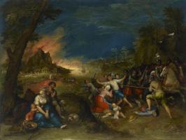 Франс Франкен Младший. Аллегория войны. 1608