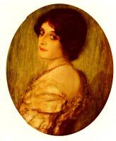 Франц фон Штук. Портрет дамы