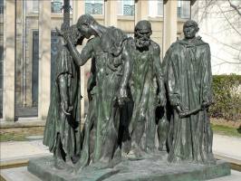 Auguste Rodin. The Burghers Of Calais