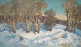 Феодосий Николаевич Северин. Зимний лес
