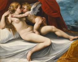 Чезари Джузеппе (Кавалер д'Арпино). Венера и Амур.