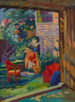 Екатерина Антропова. Красный стул