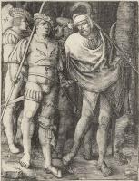 Лукас ван Лейден (Лука Лейденский). Четверо воинов в лесу