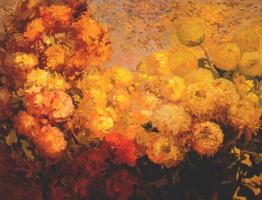 Франз Бишофф. Цветы