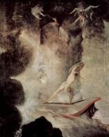 Иоганн Генрих Фюссли. Одиссей перед Сциллой и Харибдой