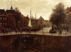Корнелис Антони ван Ванинг. Вид на Гаагу