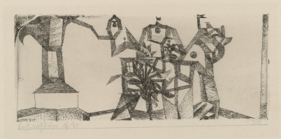 Paul Klee. Little Castle in the Air