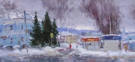 Yuri Demyanov. Warm but overcast