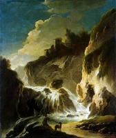Филипп Петер Роос. Пейзаж с водопадом