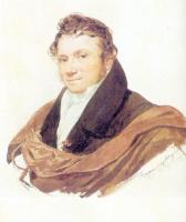 Карл Павлович Брюллов. Портрет неизвестного