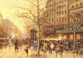 Эжен Галиен-Лалу. Улицы Парижа