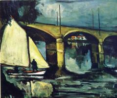 Морис де Вламинк. Мост