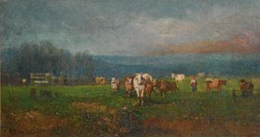 Landscape. 1884 Private collection
