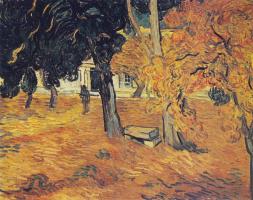 Винсент Ван Гог. Парк госпиталя Сен-Поль в Сен-Реми