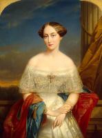 Де Никез Кейзер. Портрет великой княгини Ольги Николаевны