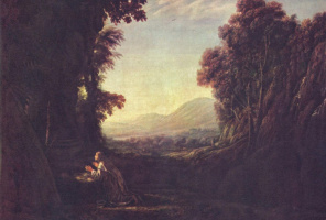 Клод Лоррен. Пейзаж с кающейся Магдалиной
