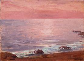 Fujima Takeuka. Sea. Sunrise