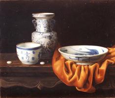 Ван Вейдонг. Блюдо на столе